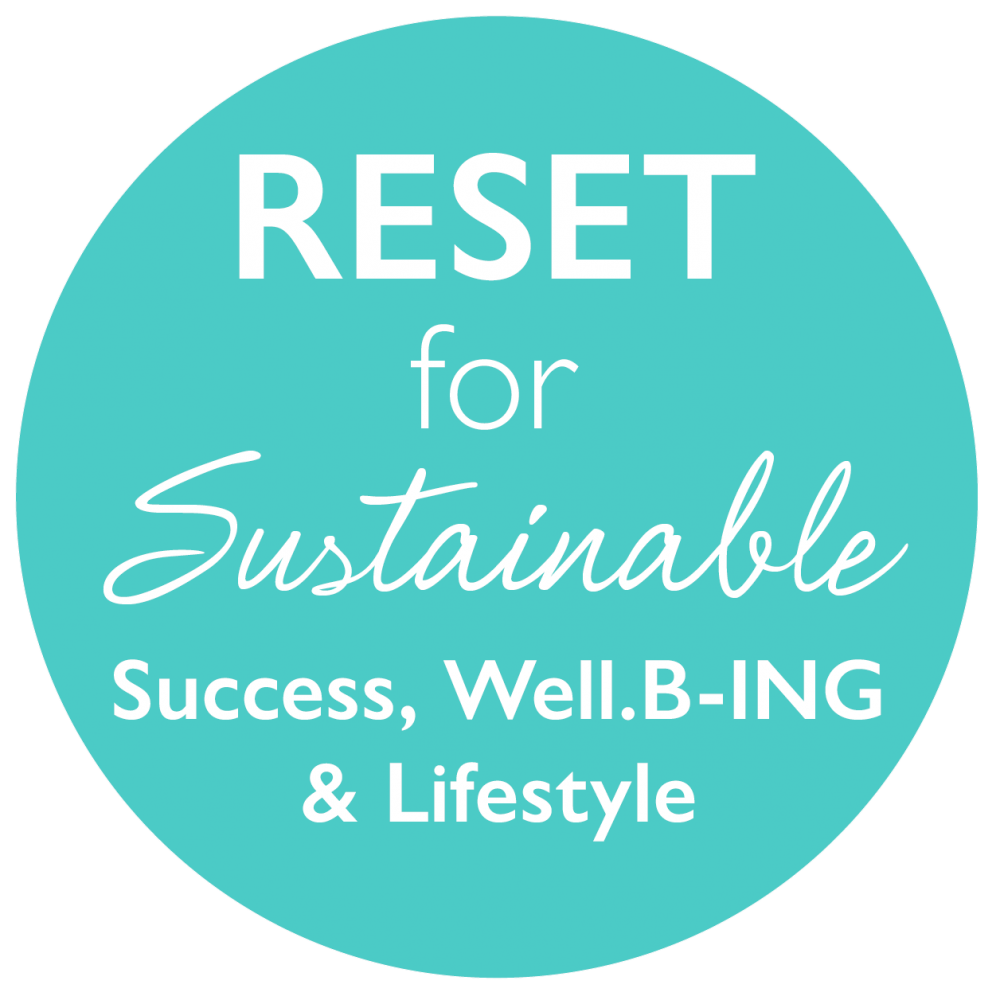 RESET for Sustainable Success Wellbeing and Lifestyle