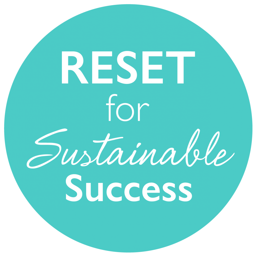 Reset for sustainable success